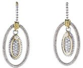 Judith Ripka JR2 Diamond Drop Earrings