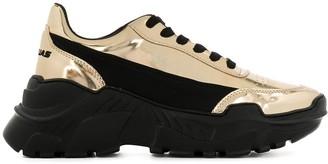 Joshua Sanders Zenith two-tone platform sneakers