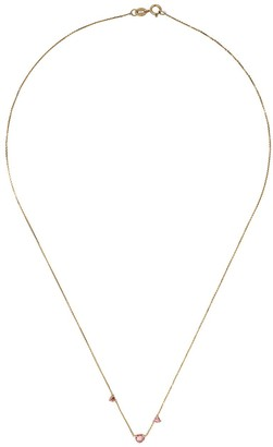 WWAKE 14kt Gold Tourmaline Necklace
