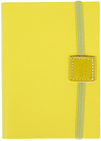 Undercover Recycled Leather Notebook Lined - Lemon - A6