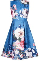Yumi Placement Flower Dress