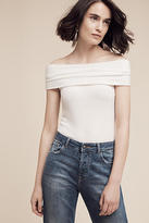 Three Dots Brushed Off-The-Shoulder Tee
