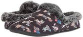 Skechers Bobs From BOBS from Beach Bonfire - Snuggle Up (Black) Women's Slippers