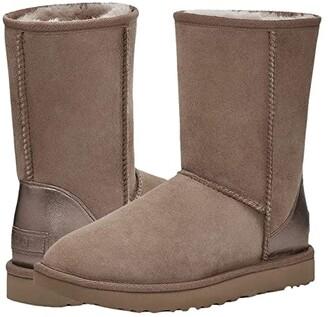 UGG Classic Short II Metallic (Caribou) Women's Boots
