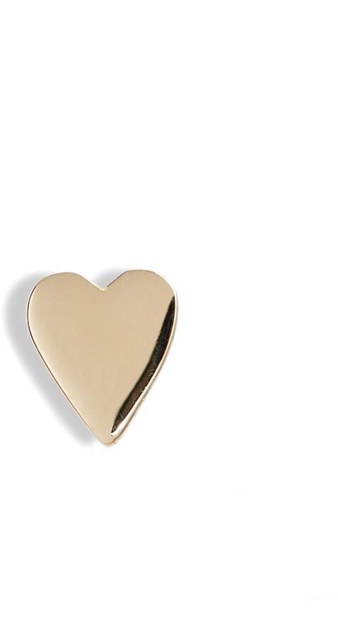Bony Levy 14K Gold Heart Stud Earring