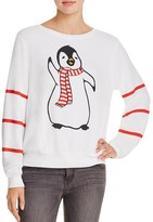 Wildfox Couture Penguin Sweatshirt - 100% Bloomingdale's Exclusive