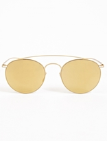 Mykita Gold Mmesse 006 Sunglasses