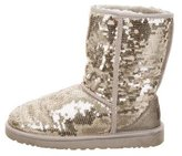 UGG Sequined Classic Short Boots