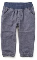 Tea Collection Denim-Like Pant in Blue