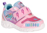 My Little Pony Rainbow Lighted Strap Athletic Sneaker (Toddler Girls)