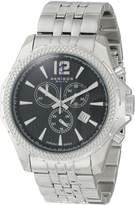 Akribos XXIV Men's AK662SSB Ultimate Swiss Chronograph Dial Stainless Steel Bracelet Watch