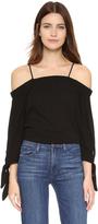 Ella Moss Solid Off Shoulder Blouse