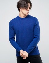 Benetton Sweater In Shetland Wool