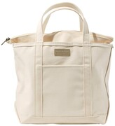 L.L. Bean L.L.Bean Boat and Tote, Zip-Top with Pocket, Large