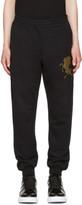 Alexander McQueen Black coat Of Arms Lounge Pants