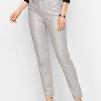 Talbots Slim Ankle Jeans - Silver Foil