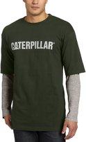 Caterpillar CAT Apparel 1510036 Men's Thermal Layered LS Tee Dark Heather Grey 3X-Large