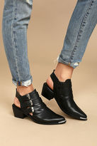Sixty Seven Sixtyseven 78551 Napa Black Leather Pointed Ankle Booties