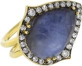 SYLVA & CIE Pear Shaped Sapphire Ring