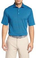 Bobby Jones Men's 'Feed Stripe - Xh20' Stretch Golf Polo