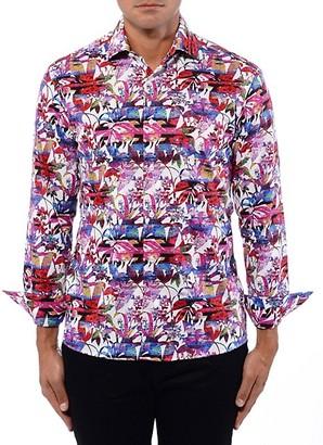 Bertigo Floral Graphic Shirt