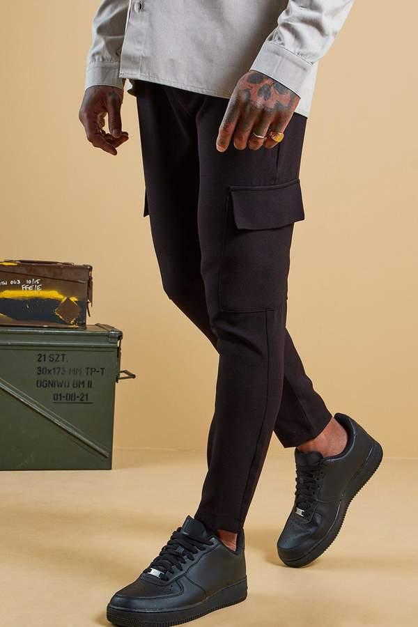 99f4267964ba Mens Black Cord Trousers - ShopStyle UK