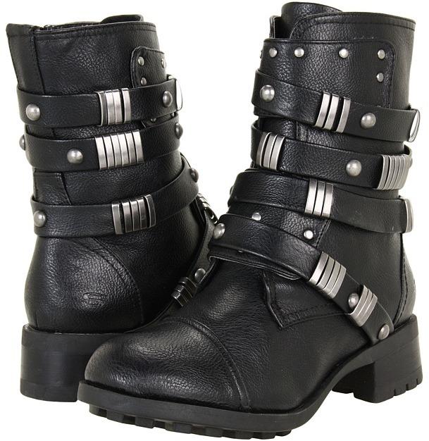 Skechers Lunacy - Dragon Tattoo (Black) - Footwear