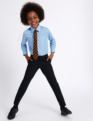 Marks and Spencer Boys' Slim Leg Slim Fit Trousers