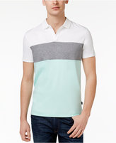 Calvin Klein Men's Colorblocked Cotton Knit Polo