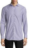 Ralph Lauren Bengal-Stripe Sport Shirt, Purple