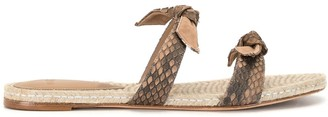 Alexandre Birman Clarita braid detail sandals