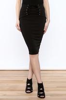 lovelyday High Waist Knee Skirt