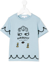 Burberry face print T-shirt