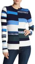 Opening Ceremony Ribbed Colorblock Sweater