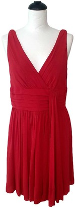 Temperley London Red Silk Dress for Women