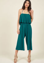 ModCloth Take It From the Crop Jumpsuit in M
