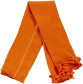Jefferies Socks Ruffle Footless Tights (Toddler/Kid) - Orange-8-10 Years
