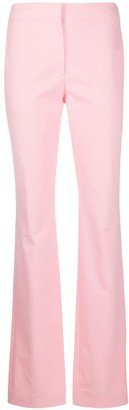 Moschino Mid-Rise Flared Trousers