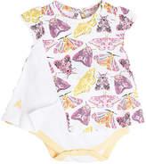 Burt's Bees Baby Desert Moths Organic Cotton Bodysuit Dress