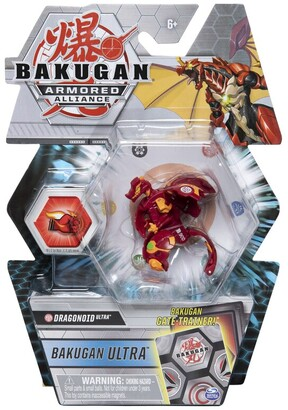 Bakugan Ultra, 3-inch Tall Armored Alliance Collectible Action Figure and Trading Card (Styles May Vary)
