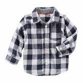 Osh Kosh Oshkosh Long Sleeve Button Down- Baby
