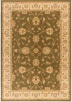 "Kenneth Mink Closeout! Area Rug, Warwick Meshad Green/Wheat 2'3"" x 7'7"" Runner Rug"