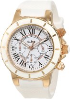 A Line a_line Women's 20102DV Marina Chronograph Textured Dial Silicone Watch