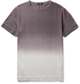Theory Gaskell Dégradé Slub Cotton-Jersey T-Shirt