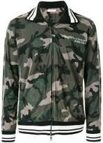 Valentino camouflage mesh track jacket