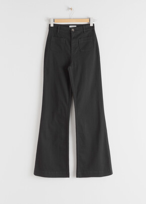And other stories Flared High Rise Jeans