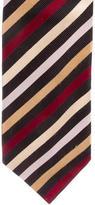 Gucci Striped Silk Wide Tie