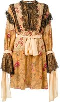 Faith Connexion ruffle detail dress - women - Silk/Polyamide/Viscose - 36