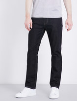 Canali Slim-fit skinny mid-rise jeans