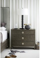 Bernhardt Linea 3 Drawer Bachelor's Chest Color: Cerused Charcoal